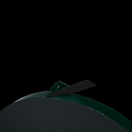 Taśma Dwustronna Pianka PE Czarna, Grubość 1.5mm, Klej Akryl