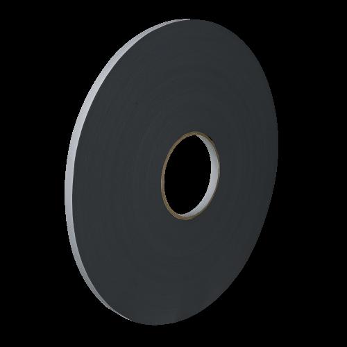 Taśma Dwustronna Pianka PE Czarna, Grubość 3mm, Klej Akryl