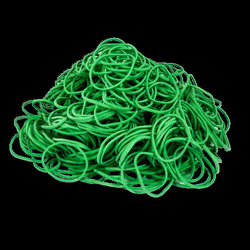 Gumki Recepturki Zielone, Grubość 3/1,5mm