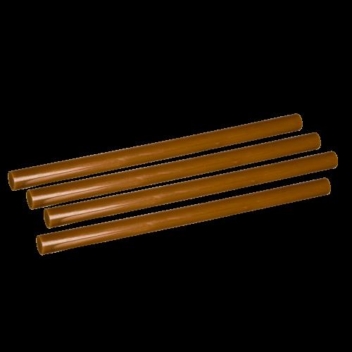 Klej Termotopliwy w Laskach Jasny Brąz - 11/200mm 1kg