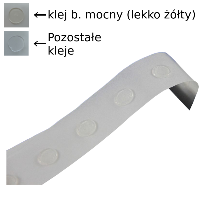 Kropki Klejowe / Glue Dots - Średnica 12mm