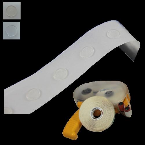 Kropki Klejowe Do Aplikatora ATG - Średnica 12mm, 1000szt