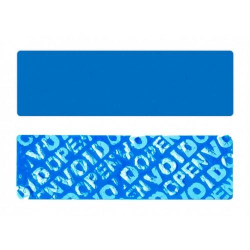 Stickery / Plomby Samoprzylepne VOID Niebieskie - 2000szt