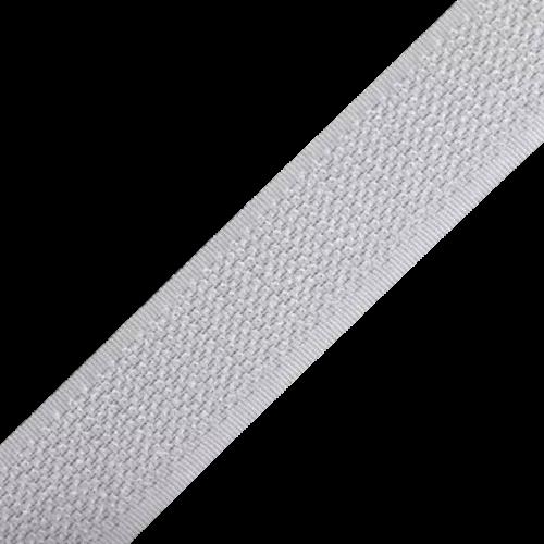 Rzep Samoprzylepny (Haczyk) 25mb, Klej Akryl - Biały