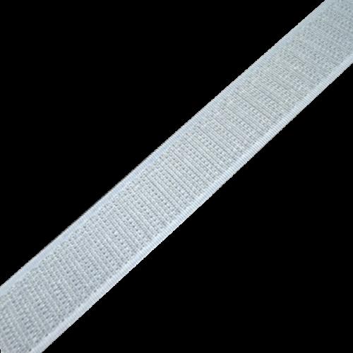 Rzep Wszywany Taśma (Haczyk) 25mb - Biały
