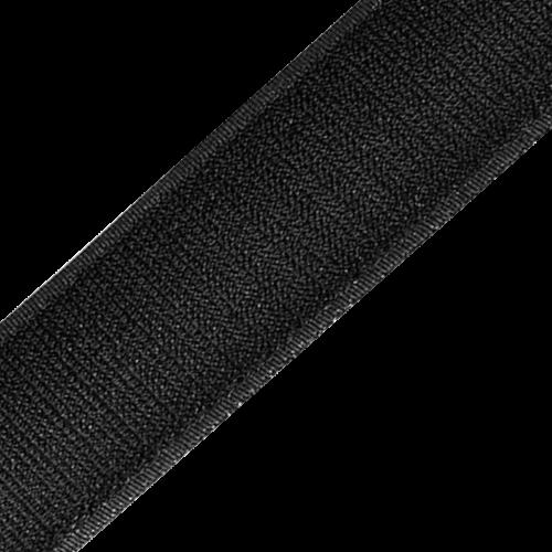 Rzep Wszywany Taśma (Haczyk) 25mb - Czarny