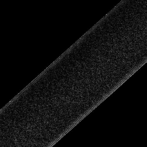 Rzep Wszywany Taśma (Pętelka) 25mb - Czarny