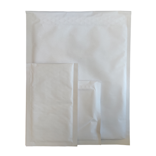 Koperta Bąbelkowa H18, Biała - 100szt