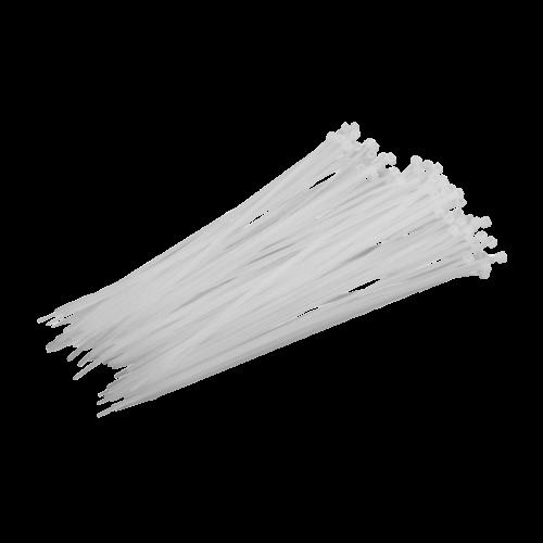 Opaska Zaciskowa Biała - 100szt