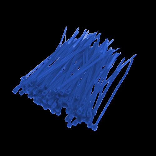 Opaska Zaciskowa Niebieska - 100szt