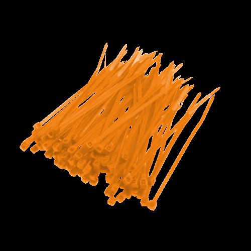 Opaska Zaciskowa Pomarańczowa - 100szt