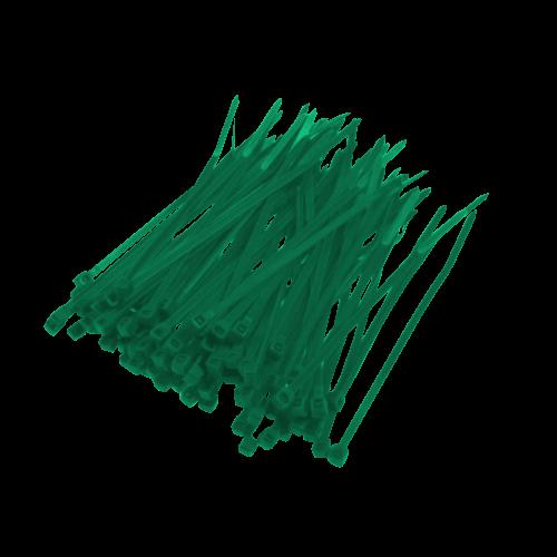 Opaska Zaciskowa Zielona - 100szt
