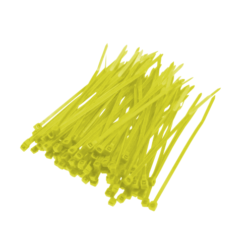 Opaska Zaciskowa Żółta - 100szt