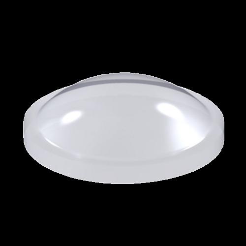 Stopka Bumpon Półkolista 10mm/3,1mm - 288szt, Transparentna