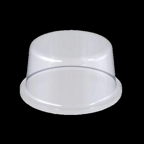 Stopka Bumpon Cylindryczna 10mm/4mm - 242szt, Transparentna