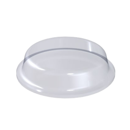 Stopka Bumpon Cylindryczna 12,7mm/1,8mm - 200szt, Transparentna