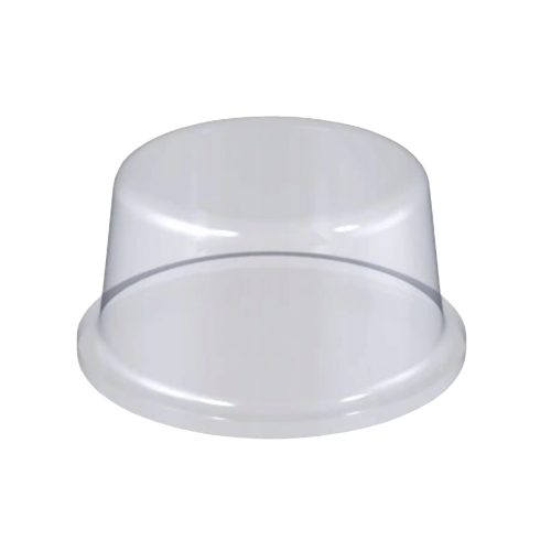 Stopka Bumpon Cylindryczna 8mm/3mm - 288szt, Transparentna