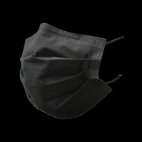 Maseczki Higieniczne Czarne 3W 10szt